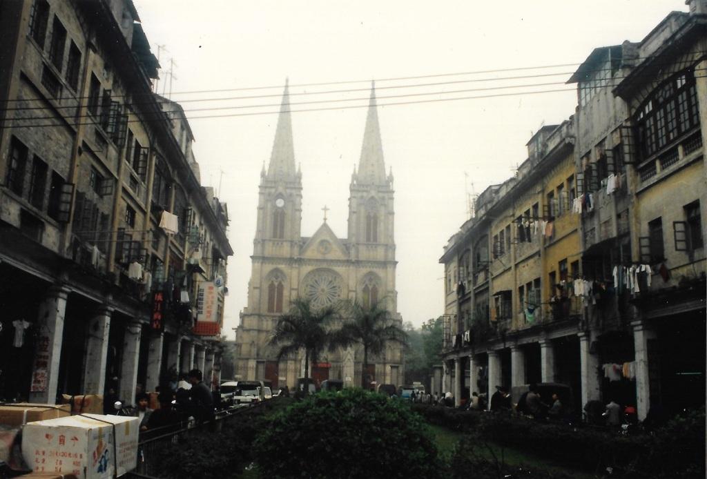 Cathédrale de Canton - 1991 - Photo de Patrick Le Chevoir